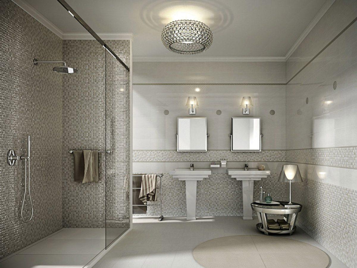 Ceramiche sant 39 agostino per l 39 arredo bagno casa della - Piastrelle grigie bagno ...