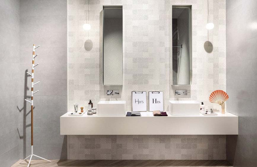 Larredo bagno a torino: casa della piastrella